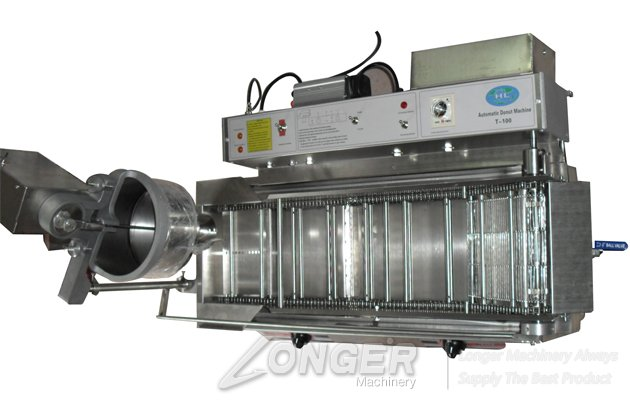 High Quality Electric and Gas Integration Automatic Donut Making Machine for Sale
