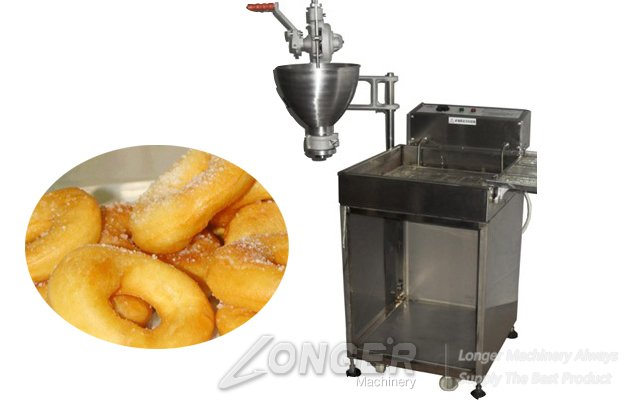 CE Approved Manual Vertical Donut Making Machine for Sale