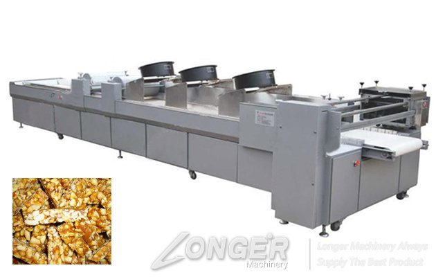 Hot Sale Peanut Brittle Production Line With CE Certificate