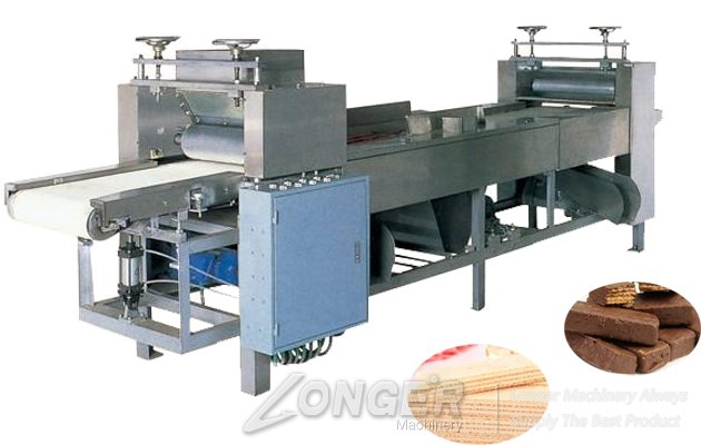 Automatic Wafer Biscuit Cream Spreading Machine for Sale