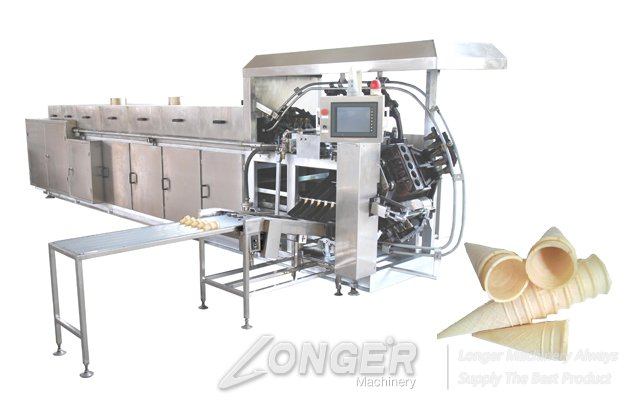 Automatic Ice cream Cone 14 Moulds Oven