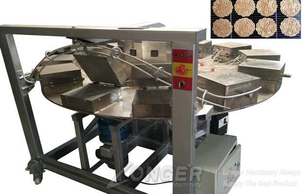 Automatic Sunflower Biscuit Making Machine
