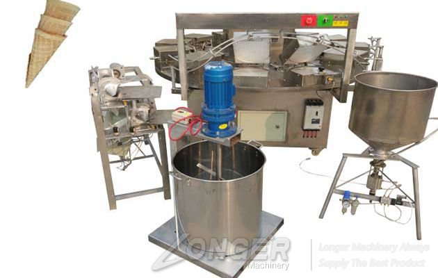 Commercial Hot Sale Sugar Cones Baking Machine from China Factory