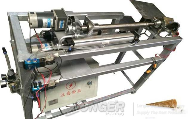 Commercial Sugar Cone and Ice Cream Cone Rolling Machine