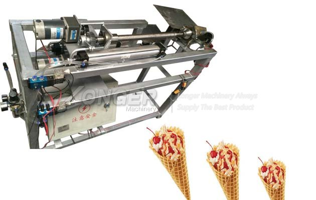 Best Quality Ice Cream Cone Rolling Machine