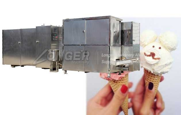Automatic Rolled Sugar Cone Machine Plant