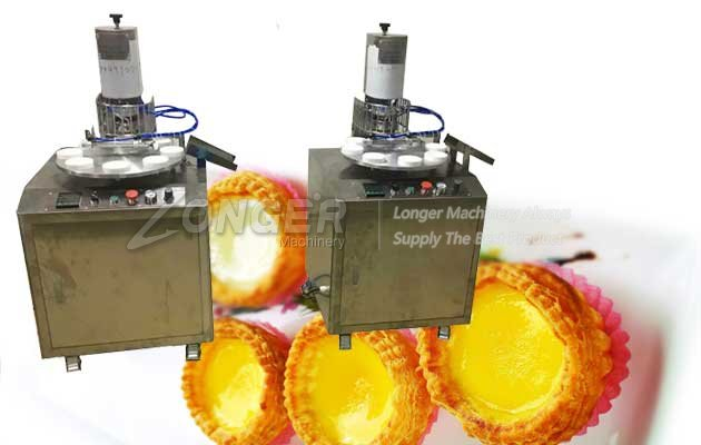 Egg Tart Making Machine|Egg T