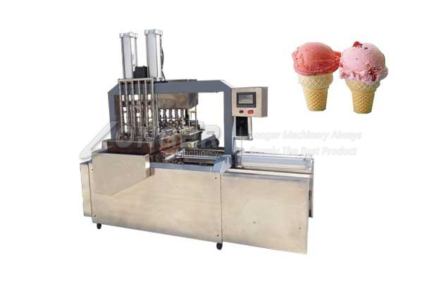 Full Automatic Ice Cream Cone