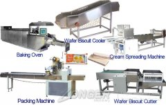 LGDL-15-1 Wafer Biscuit Production Line