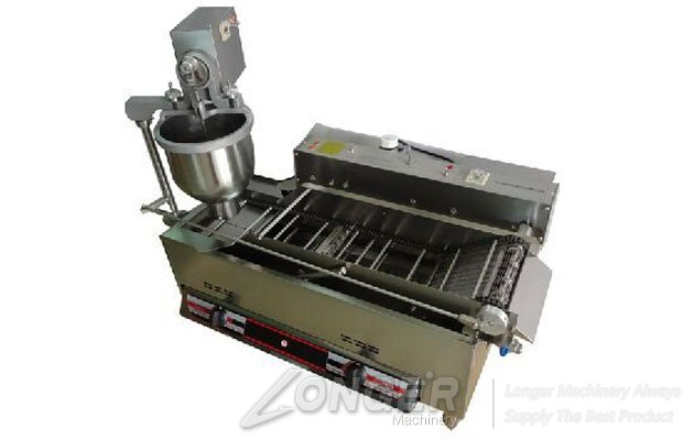 longer lgtl 100b high quality gas automatic donuts making machine as for this machine is 220v 50hz so if we want to use the 380v power we should be according to the wiring diagram in the manual