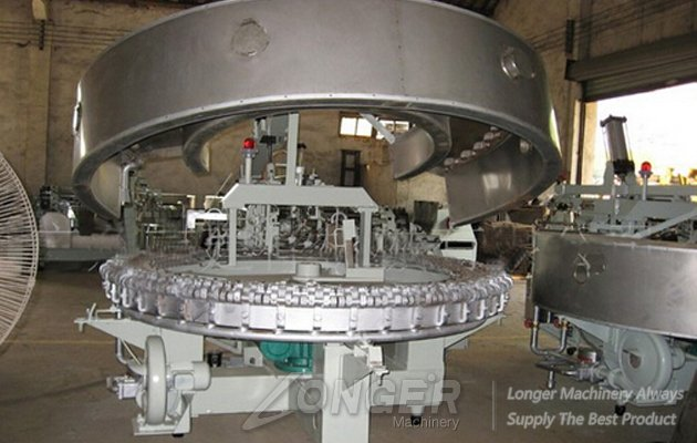 automatic rolled sugar cone baking machine