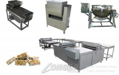 Commercial Peanut Brittle Production Line
