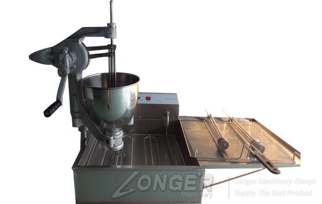 manual desktop donuts making machine for