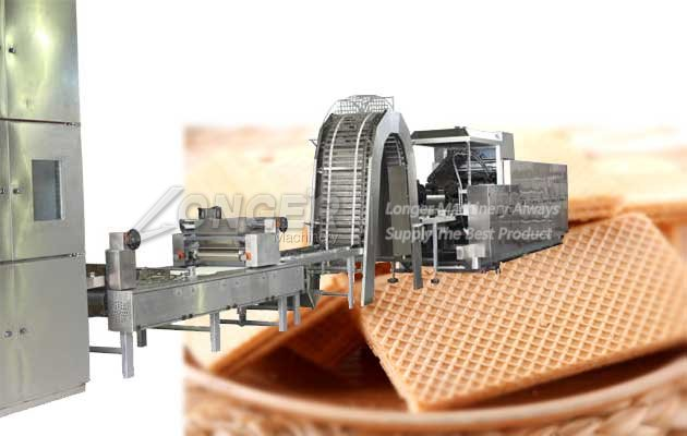 wafer biscuit product line