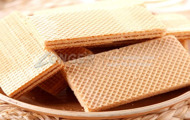making wafer biscuit